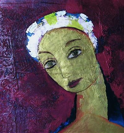 Damas pittura per mostra Museo